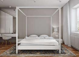 Projekty,  Salon zaprojektowane przez Angelina Alekseeva