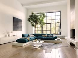 Salas / recibidores de estilo moderno por COR Sitzmöbel Helmut Lübke GmbH & Co. KG