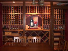 klassischer Weinkeller von Dragoncellars