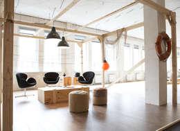 Musterbuero Hafencity:  Bürogebäude von Studio Uwe Gaertner Interior Design & Photography