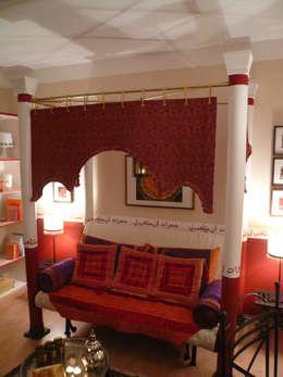 Salon de style de style eclectique par Innenarchitektin Claudia Haubrock