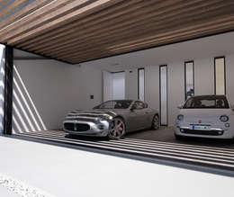 Garajes de estilo moderno por DUE Architecture & Design