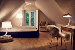 Projekty,  Sypialnia zaprojektowane przez Heike Gebhard Wohnen