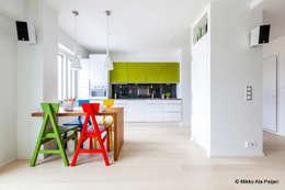 Salas / recibidores de estilo escandinavo por Maurizio Giovannoni Studio