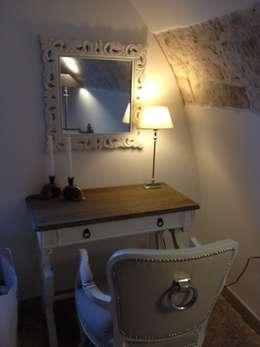 mediterranean Bedroom by Atmosfere d'interni