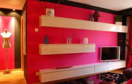 غرفة المعيشة تنفيذ Arquitectura de Interior