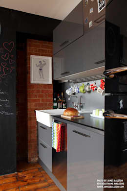 Cuisine intégrée de style  par Cassidy Hughes Interior Design