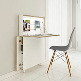 modern Study/office by studio michael hilgers