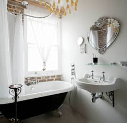 industrial Bathroom by MDSX Contractors Ltd