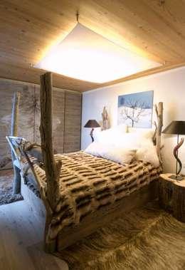 Charlet Kitzbühel Sleeping: landhausstil Schlafzimmer von Raumkonzepte Peter Buchberger
