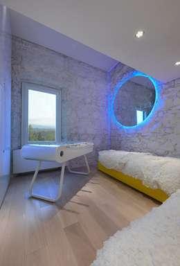 Casa Micheli: Camera da letto in stile in stile Moderno di Simone Micheli Architectural Hero