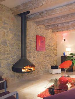 Paxfocus Fire: modern Living room by Diligence International Ltd