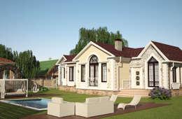 Casas de estilo clásico por Гурьянова Наталья