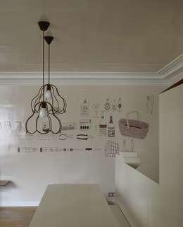 Walls & flooring by Marcante-Testa