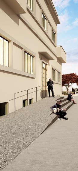 moderne Häuser von QBatelier + FèRiMa