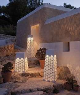 Projekty,  Ogród zaprojektowane przez Muebles Flores Torreblanca