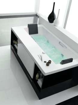Muebles Flores Torreblanca: minimal tarz tarz Banyo
