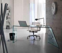 Muebles Flores Torreblanca: modern tarz Çalışma Odası