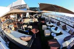 Les Marches Night Club - Cannes: Locaux commerciaux & Magasins de style  par Glow Deco