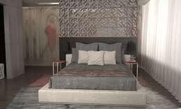 Hotel Suite: Dormitorios de estilo asiático por GG&Asociados