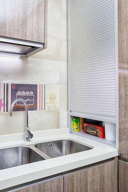 Cozinhas modernas por COCINAS CASTILLO