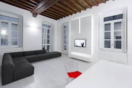 Projekty,  Salon zaprojektowane przez Comoglio Architetti
