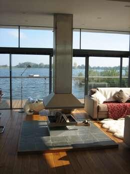 moderne Wohnzimmer von AR Design Studio