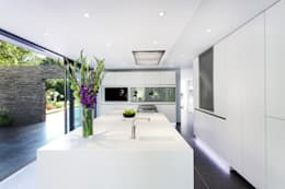 modern Kitchen by AR Design Studio