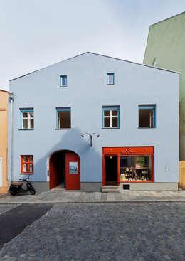Winkelruimten door Peter Haimerl . Architektur