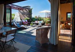 Flat roof by Giardini Giordani