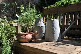 Jardines de estilo rústico por Giardini Giordani