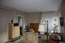 Гостиная в . Автор – Holzerarchitekten
