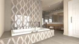 modern Bathroom by MyWholeDesign