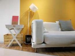 moderne Wohnzimmer von Spazio 14 10 di Stella Passerini