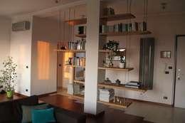 غرفة المعيشة تنفيذ enrico massaro architetto