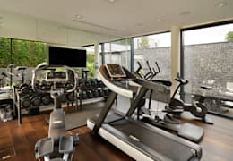 modern Gym by Gregory Phillips Architects