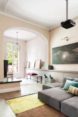 minimalistische Woonkamer door Meritxell Ribé - The Room Studio