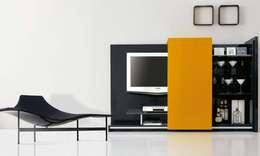 moderne Wohnzimmer von MUMARQ ARQUITECTURA E INTERIORISMO