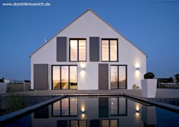 modern Houses by Architekturbüro Ferdinand Weber