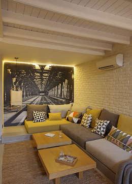 Meritxell Ribé - The Room Studio: modern tarz Oturma Odası