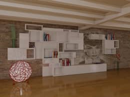 modern Living room by d2w studio