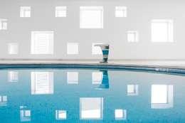 minimalistisches Spa von A2arquitectos