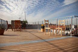 Terrasse de style  par BS - Holzdesign