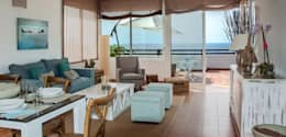 mediterrane Wohnzimmer von Tatiana Doria,   Diseño de interiores