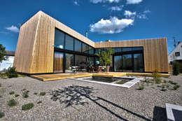 1-Einfamilienhaus: moderne Häuser von vollmilch. Das Architekturbüro.