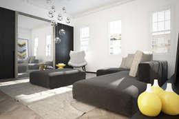 modern Living room by YAM Studios