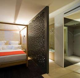 Chambre de style de style eclectique par Donaire Arquitectos
