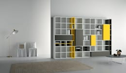 Industrial design - Dall'Agnese - Zona giorno Speed: Soggiorno in stile in stile Minimalista di IMAGO DESIGN