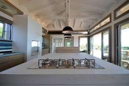 Cuisine en béton -Spérone: Cuisine de style de style Moderne par Concrete LCDA