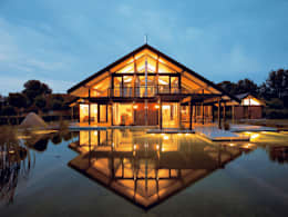 Casas modernas por DAVINCI HAUS GmbH & Co. KG